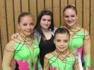 Platz 3 Tempo Helena, Madita, Katharina & Sandra