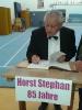 85. Geburtstag Horst Stephan